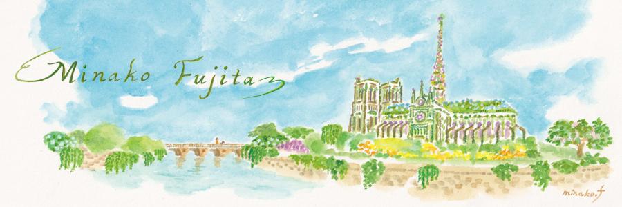 Minako Fujita illustration site