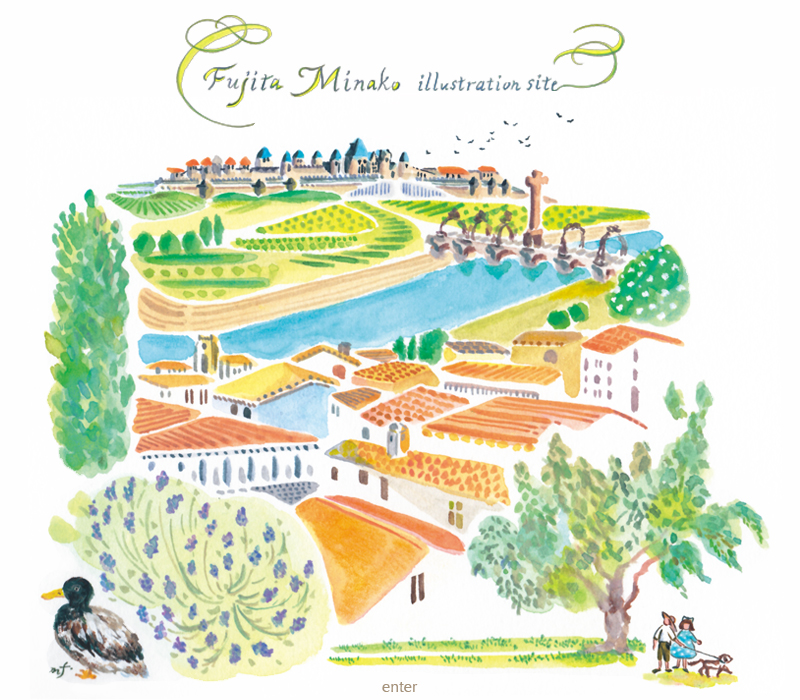 fujita minako illustration site